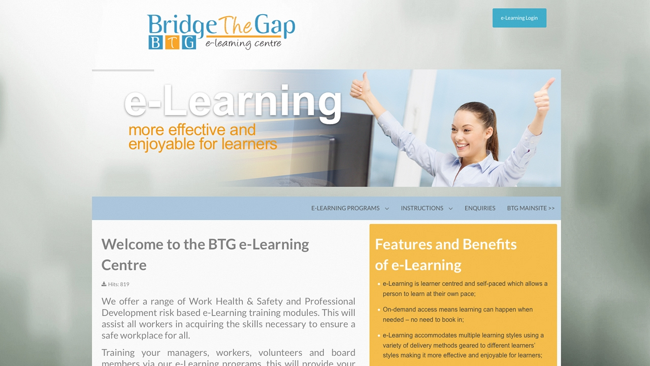 Bridge the Gap Training